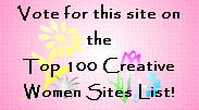 Creative Women Top 100 Sites List